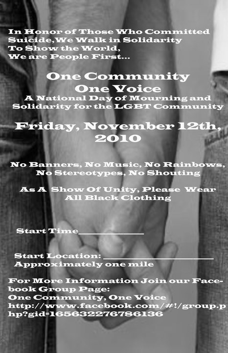 One Community:One Voice