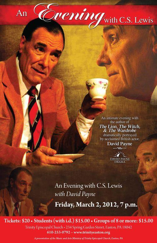 CS Lewis poster